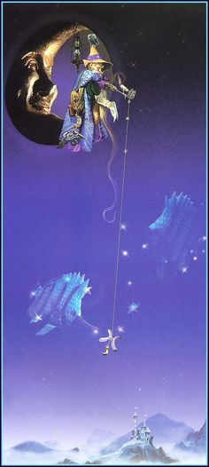 Fishing From The Moon