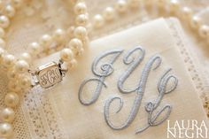 Pearls and monograms- southern essentials...