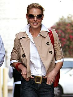 Katherine Heigl, I need to get a white blouse , I have everything else !