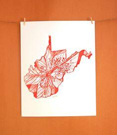 West Virginia Rhododendron