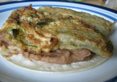 Chili Rellenos from Food.com:   Stuffed Chilies with melted Cheese and a crusty shell ready to eat quickly and easily.Add refried beans, flour tortillas and your favorite Salsa and you have a perfect Mexican Restaurant night out.I have used this recipe for almost 40 years and still love it .