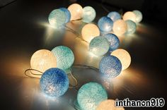 String ball lights