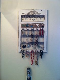 For my future home on pinterest for Hobby lobby jewelry holder