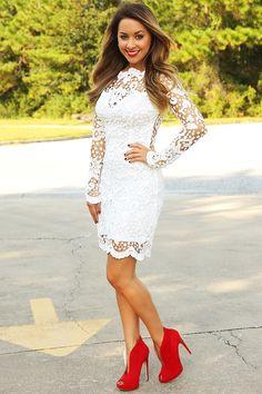 RESTOCK: American Dream Dress: White – Hope's #shophopes