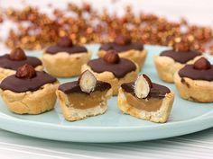 Chocolate and Dulce de Leche Tassies