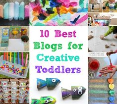 The 10 Best Blogs for Creative Toddlers