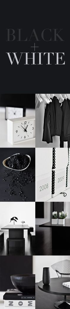 :: DETAILS :: covet classic black +white. adore the talent of designer Michelle Wentworth behind Mo+Mo Living ... always a lovely well curated source of inspiration. #details #minimal