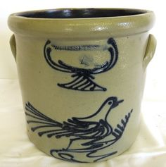 Whites Utica Stoneware Crock : Lot 50