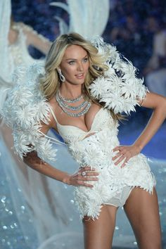 Victoria's Secret Fashion Show 2013 Pictures - Outfits (Vogue.com UK) Candice Swanepoel.