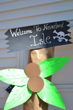 Pirates - Love the idea of a sign to welcome them to the store.