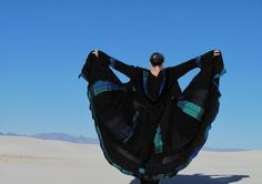 Upcycled Sweater Coat Elf Duster Gypsy Traveler by SunspiralAutumn, $395.00