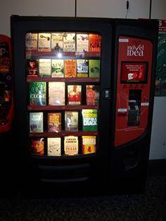 Book vending machines!