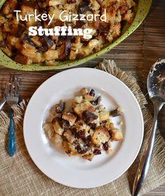 Turkey Gizzard Stuffing