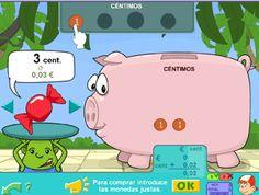Las monedas desde JUEGOS EDUCATIVOS PIPO #monedas
