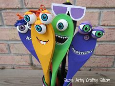 Jar O' Monsters- just in time for Halloween fun! - Suzy's Artsy Craftsy Sitcom