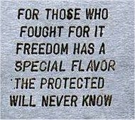 fighting for freedom honor themthey