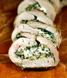 Stuffed Pork Tenderloins on Pinterest | Pork Tenderloin Recipes, Pork ...