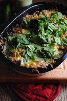Hatch Chile and Cheese Rice