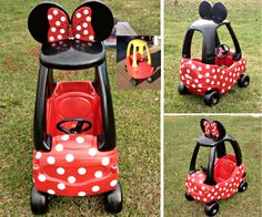 minnie mouse cozy coupe