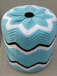 Puff crochet. I want this for the girls room!