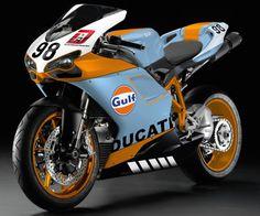 Gulf racing Ducati.