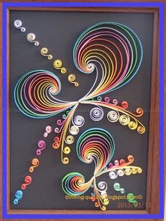 Thrilling Quilling - by: Nupur Bhatia
