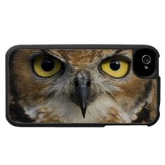 #iPhone 4 Case with #Owl Eyes