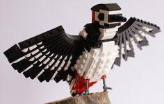 Woody Woodpecker: A LEGO creation by DeTomaso Pantera : MOCpages.com