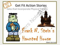Spooktacular Halloween Giveaway!! Enter for your chance to win 1 of 10.  Get Fit Action Stories: Frank N. Steins Haunted House (15 pages) from Educator Helper on TeachersNotebook.com (Ends on on 10-27-2014)  Get students exercising and moving as they follow along with Frank N. Stein's move to a new neighborhood, where he finds new friends to help make his house a home. Action words include:   looked around moped juggled skipped rope frown blow shivered and shook dropped to the ...