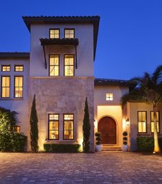 Modern Mediterranean Homes Design, Pictures, Remodel, Decor and Ideas - page 3