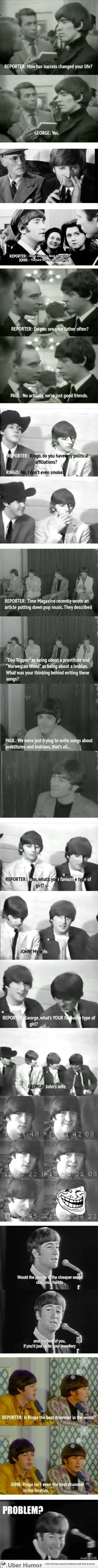 The Beatles were just the best.