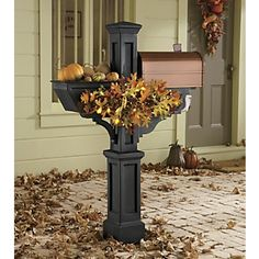 Mailbox planter box can be used for seasonal decor as well