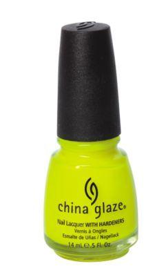 neon nail polish. yes please.
