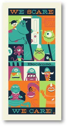 Monsters, Inc. Art