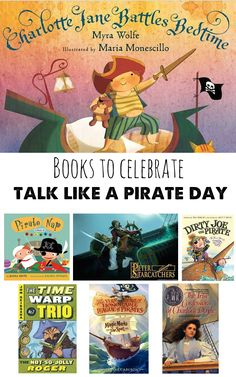 Pirate Themed Books for Children #TalkLikeAPirateDay