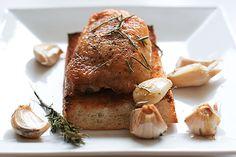 Garlic Roasted Chicken | www.tasteandtellblog.com
