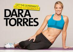 Resistance band workout by Olympian Dara Torres