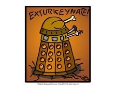 Have you gotten your Thanksgiving Dalek?