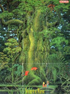 Secret of Mana (1993). Never has there been a more beautiful game.