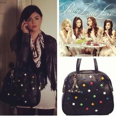 Lucy Hale with a Vieta bag on Pretty Little Liars