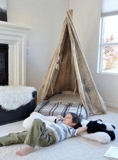 Our Little Pre Move Camp Out and a Giveaway! | The Design Confidential