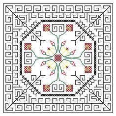 Free Blackwork Charts |Free Cross Stitch Charts — Love Cross Stitch