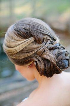 Ultra elegant #updo #weddinghair | Photography: http://theredflystudio.com  #weddinghair #ideas #accessories #veil