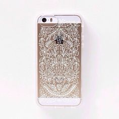 Clear phone case from Rifle Paper, coming Spring 2014!