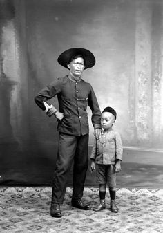 a police sergeant dutch indies in singkep, 1910