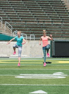Run Faster: A pyramid-style track workout (plus dynamic stretches!)