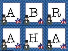 President's Day Making Words Freebie   - Pinned by @PediaStaff – Please Visit ht.ly/63sNtfor all our pediatric therapy pins