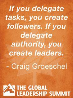 Leadership quote by Craig Groeschel