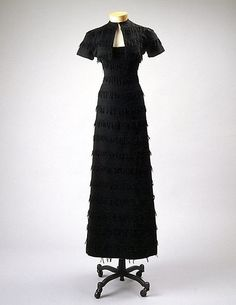 Dinner suit, Claire McCardell, 1935, American, wool