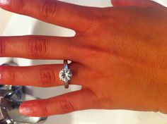 Simple engagement ring! I want something like this!